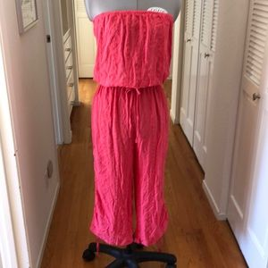 Pants - NEW Embroidered Gauze Romper
